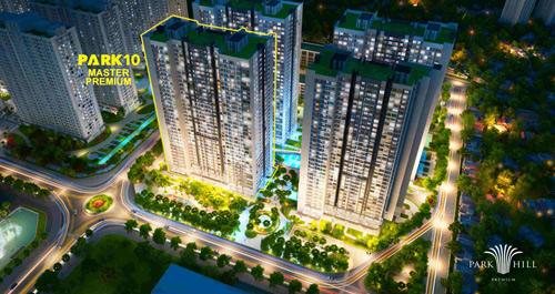 Mở bán Park 10 – Master Premium: Tòa căn hộ đắt giá nhất Times City - 1
