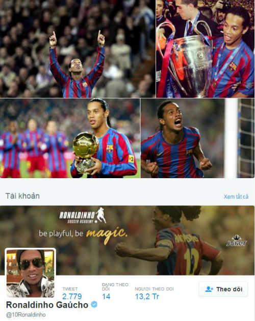 """Ronaldinho 36 tuổi: """"Phù thủy"""" bất tử làng túc cầu - 1"""