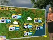 Tin tức trong ngày - Dự báo thời tiết VTV ngày 21/3