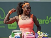 Tennis - Tennis 24/7: Serena dễ thở ở Miami