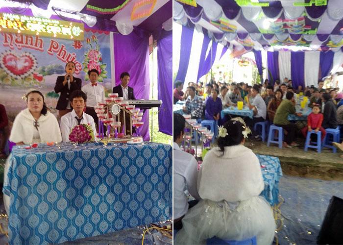 Đám cưới siêu hot: cô dâu 85kg, chú rể 45kg - 2