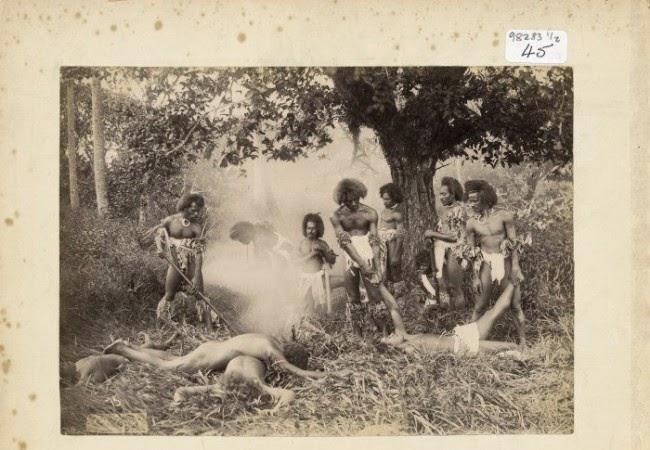 Rùng mình những bộ tộc ăn thịt người ghê rợn - 13