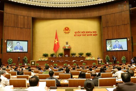 Những điểm nổi bật nhất của Quốc hội khóa XIII - 1