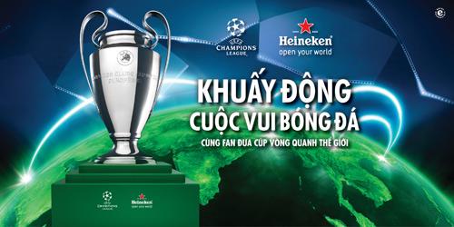 Cơ hội vàng cho khán giả Việt chạm tay vào Cúp Champions league - 1
