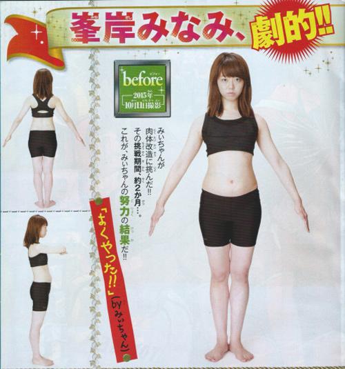 Mỹ nữ Nhật nóng bỏng hút mắt sau khi giảm cân - 3