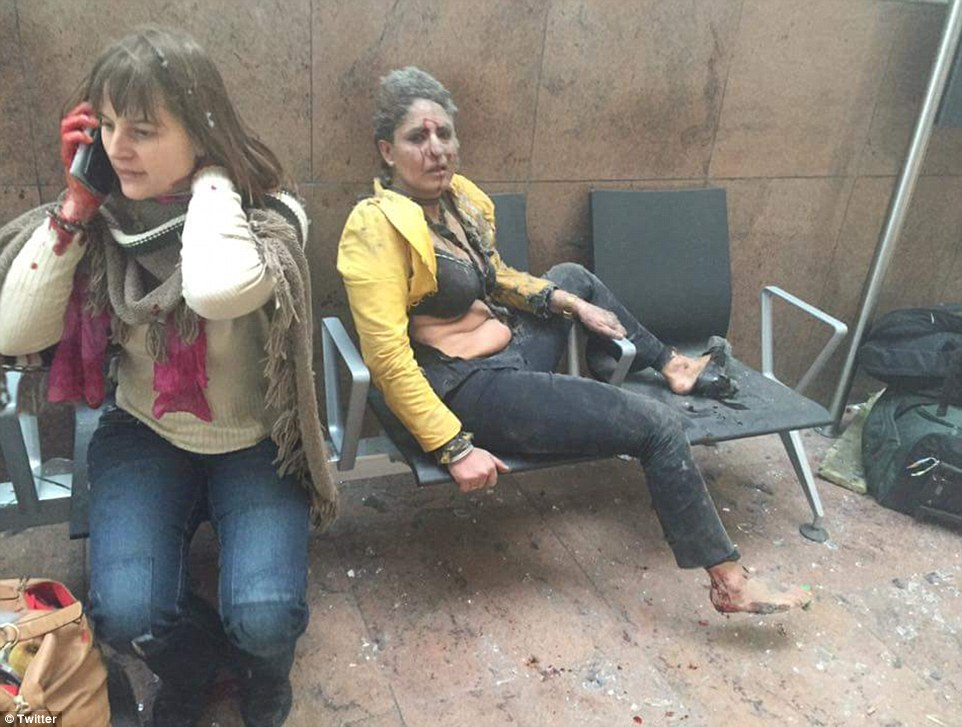 Đánh bom khủng bố liên tiếp ở Bỉ, ít nhất 34 người chết - 9