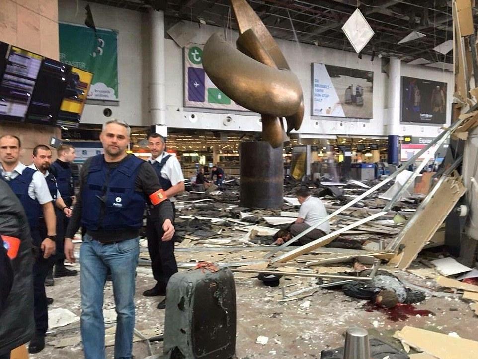Đánh bom khủng bố liên tiếp ở Bỉ, ít nhất 34 người chết - 11