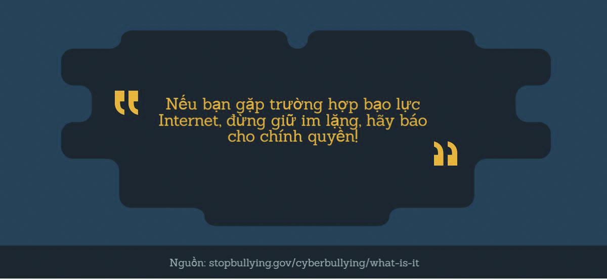 Bạo lực internet và hậu quả khó lường - 6