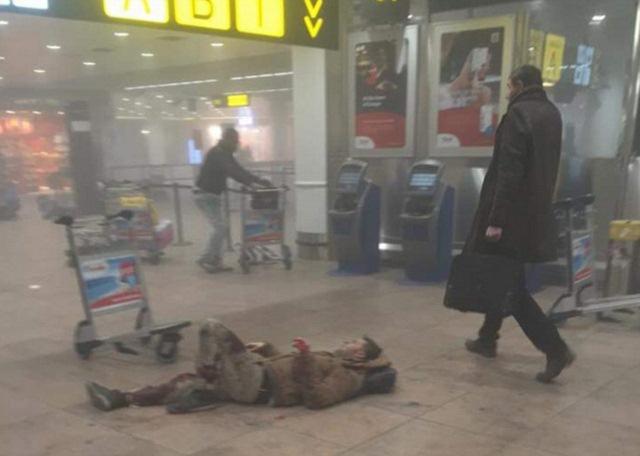 Ảnh: Hiện trường đẫm máu vụ khủng bố liên hoàn ở Bỉ - 11