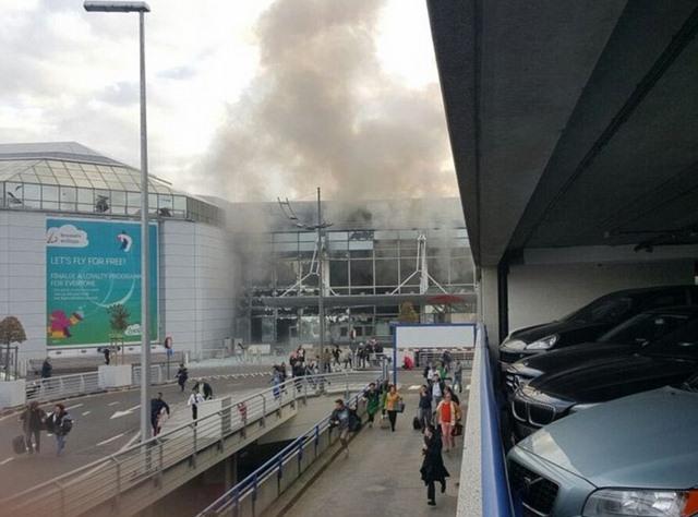 Ảnh: Hiện trường đẫm máu vụ khủng bố liên hoàn ở Bỉ - 9