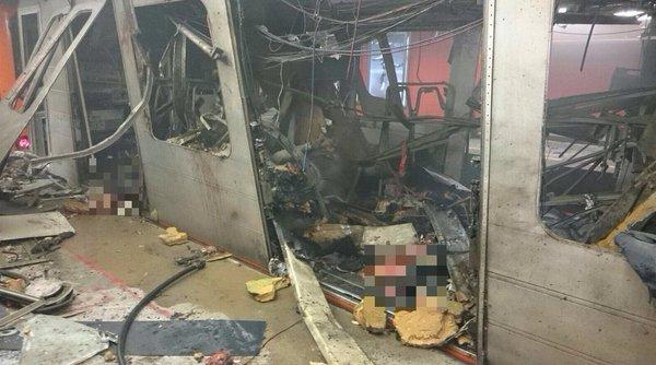 Ảnh: Hiện trường đẫm máu vụ khủng bố liên hoàn ở Bỉ - 5