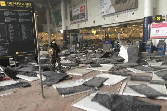 Nhân chứng vụ khủng bố ở Bỉ: Không khác gì tận thế - 1