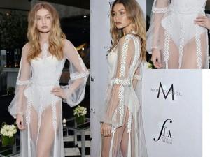 Thời trang - Hot girl Hollywood bất cẩn lộ nội y suốt sự kiện