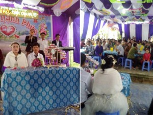 Đám cưới siêu hot: cô dâu 85kg, chú rể 45kg