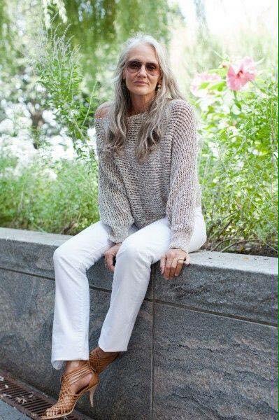 Vẻ đẹp khó rời mắt của các quý bà tóc bạc trắng - 12