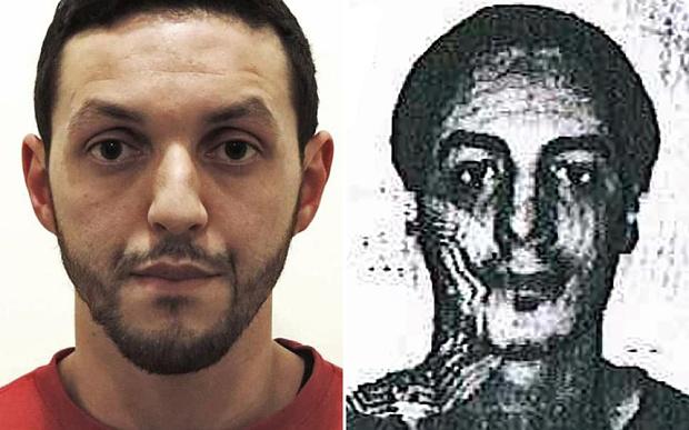 Hình ảnh 2 kẻ tình nghi đánh bom khủng bố ở Bỉ - 1