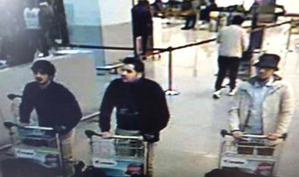 Hình ảnh 2 kẻ tình nghi đánh bom khủng bố ở Bỉ - 2
