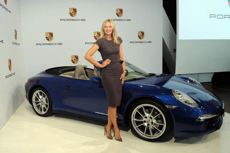 Porsche ngừng hợp tác với nữ hoàng quần vợt Maria Sharapova - 1