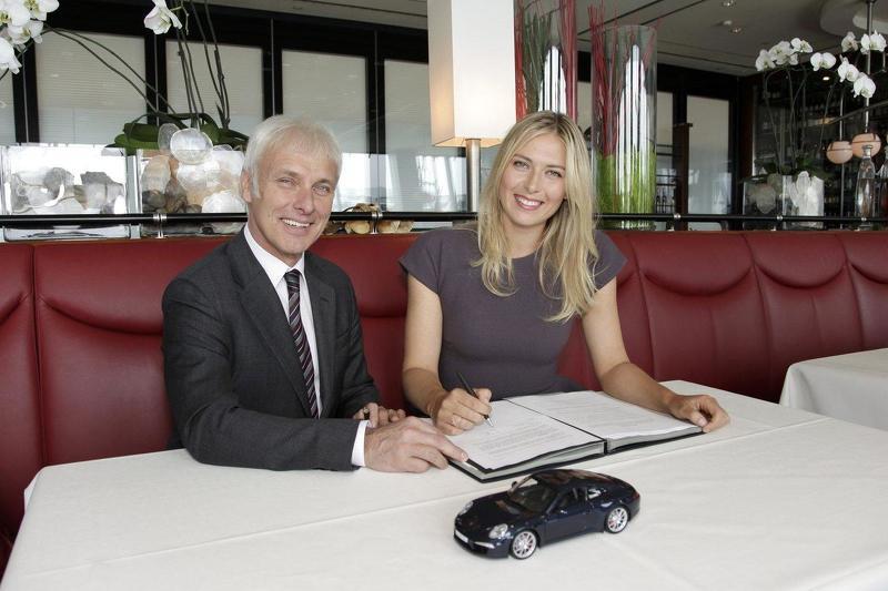 Porsche ngừng hợp tác với nữ hoàng quần vợt Maria Sharapova - 4