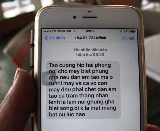 Chủ nhà hàng ở Nha Trang lại bị giang hồ dọa giết - 1