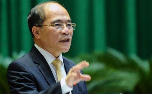 """Ông Nguyễn Sinh Hùng: """"Làm lãnh đạo chỉ có 2 việc"""" - 1"""