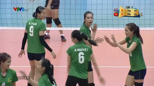 Bóng chuyền nữ: VTV Bình Điền LA vào bán kết - 1