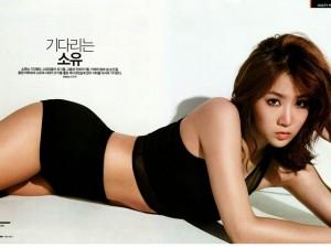 Cách giảm 8 cân 1 tháng của người đẹp Hàn Quốc Soyou