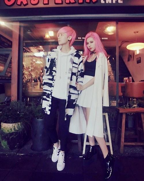 Ngắm cặp đôi đồng tính nữ hot nhất Đài Loan - 1