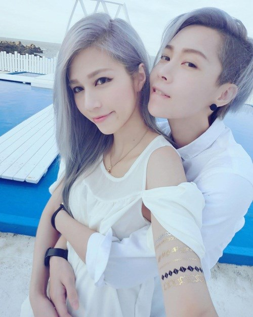 Ngắm cặp đôi đồng tính nữ hot nhất Đài Loan - 9