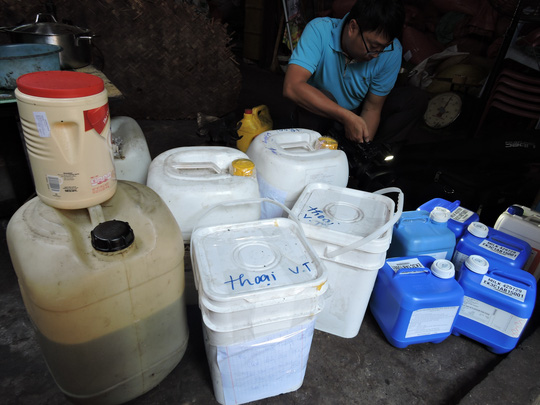 Ớn lạnh cà phê tẩm hóa chất ngay giữa TP Vũng Tàu - 2