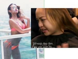 """Thời trang - Quỳnh Mai """"siêu vòng 3"""" ấm ức vì bị loại ngay tập 3"""