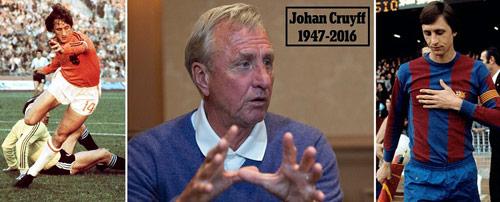 Thế giới bóng đá tiếc thương huyền thoại Cruyff - 2