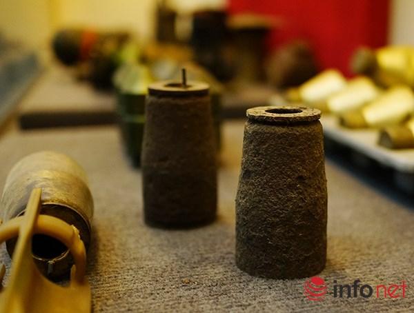 """Hình thù kỳ lạ của nhiều loại bom mìn """"có mặt"""" ở Việt Nam - 11"""