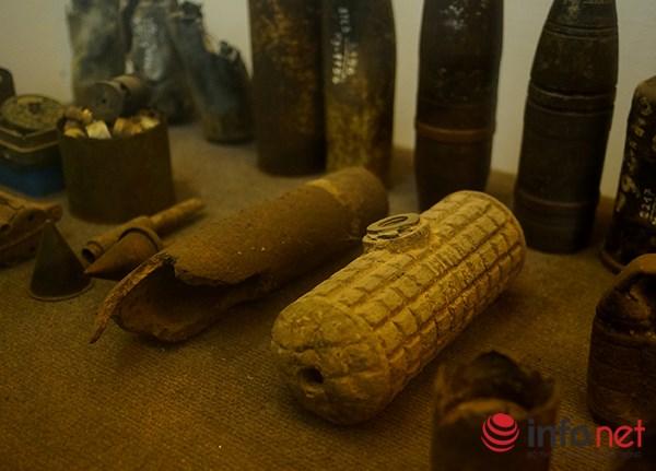 """Hình thù kỳ lạ của nhiều loại bom mìn """"có mặt"""" ở Việt Nam - 14"""