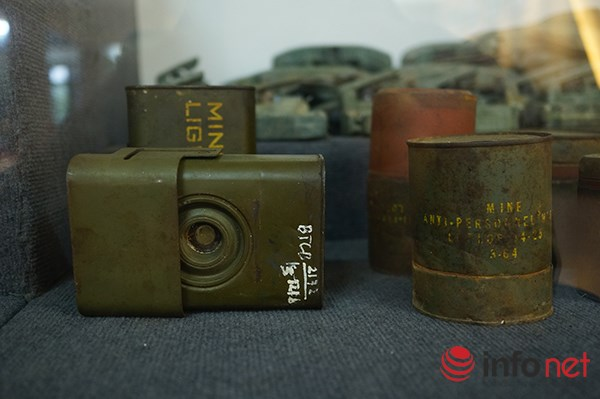 """Hình thù kỳ lạ của nhiều loại bom mìn """"có mặt"""" ở Việt Nam - 3"""