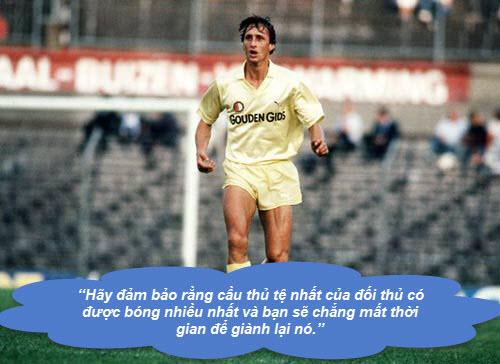 """Johan Cruyff: Những """"thánh ngôn"""" kinh điển - 3"""