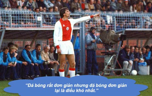 """Johan Cruyff: Những """"thánh ngôn"""" kinh điển - 1"""