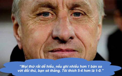 """Johan Cruyff: Những """"thánh ngôn"""" kinh điển - 2"""