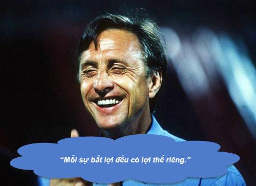 """Johan Cruyff: Những """"thánh ngôn"""" kinh điển - 6"""