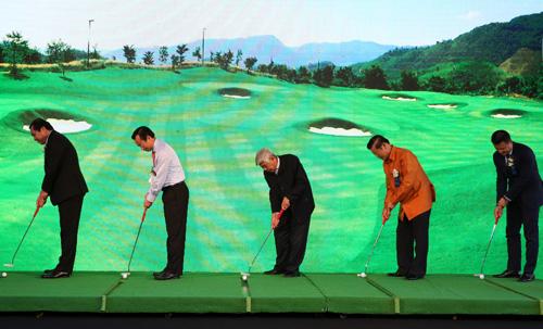 Khai trương sân golf đầu tiên tại Bà Nà - 5