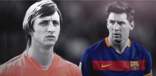"""""""Thánh"""" Cruyff & 2 Dream Team vĩ đại, 1 Messi thiên tài - 3"""