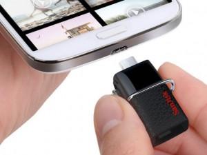 Công nghệ thông tin - USB OTG giúp mở rộng 128GB bộ nhớ cho smartphone