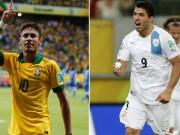 Bóng đá - Brazil – Uruguay: Neymar quyết đấu Suarez