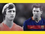 """Bóng đá - """"Thánh"""" Cruyff & 2 Dream Team vĩ đại, 1 Messi thiên tài"""