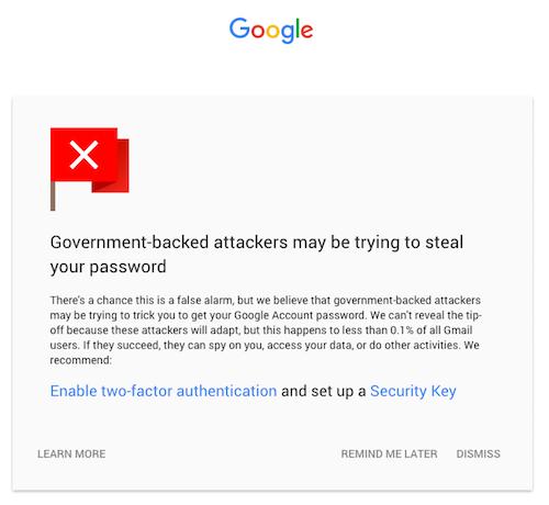 Google liên tục tăng cường bảo mật cho gmail - 1