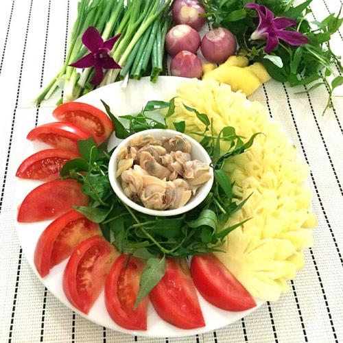 Canh ngao nấu riêu thanh mát bữa cơm trưa - 1
