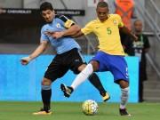 Bóng đá - Brazil - Uruguay: Bài học đau đớn