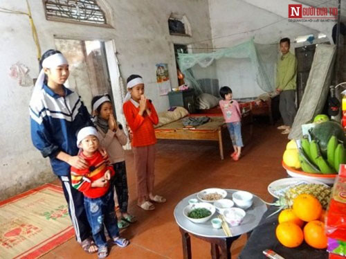 Những bữa cơm đẫm nước mắt của 6 đứa con mồ côi - 5