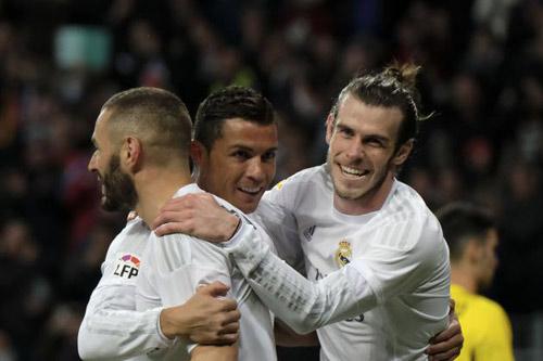 Ronaldo ít ảnh hưởng hơn Bale & Benzema ở Real? - 2