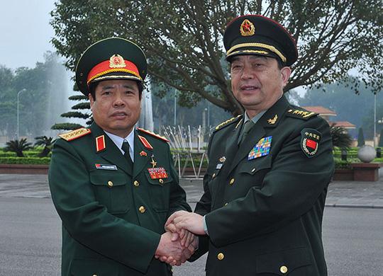 Bộ trưởng Quốc phòng Việt - Trung trao đổi về tranh chấp trên biển - 2
